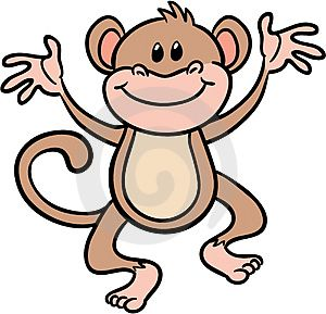Cute monkey cartoons pictures - Cartoon