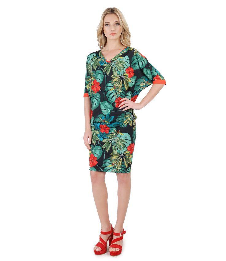 Sensations. Nature. Colors SPRING17 | YOKKO #nature #prints #colors #flowers #jungle #leaf #dress #spring17 #women #fashion #daytime #style #yokko