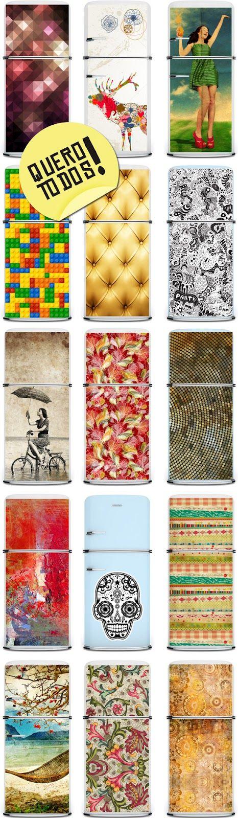 adesivos geladeira  www.decorviva.com.br