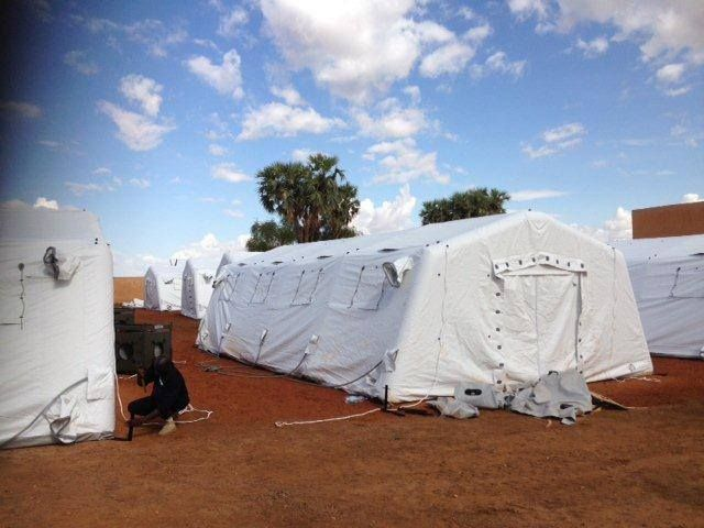 Inflatable Disaster Shelters : Best emergency management disaster relief planning
