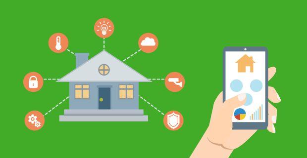 Kodin automaatiojärjestelmillä ohjataan kodin toimintoja yhdellä napin painalluksella tai vaikkapa työpaikalta.