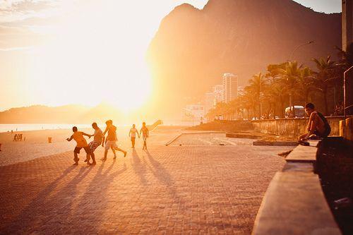 São Conrado beach, Rio de Janeiro, Brazil.