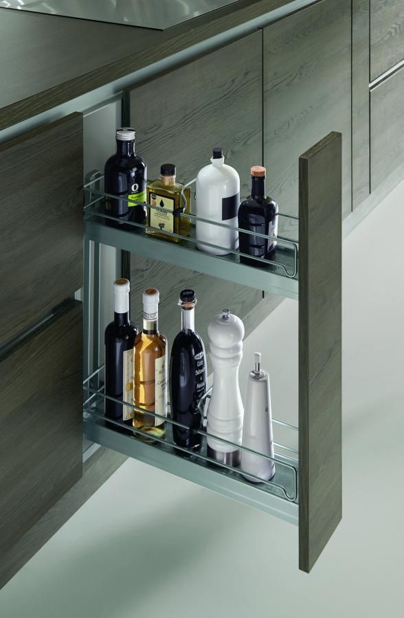 Love This For Spices And Cooking Oils Modern Kitchen Cabinets In Nyc Modern Kitchen