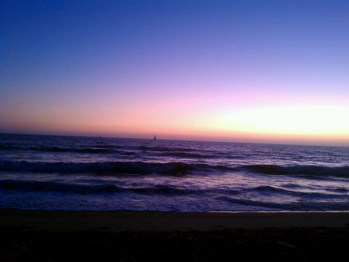 Dockweiler State Beach in Playa del Rey, CA