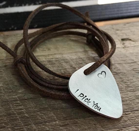 Customized boyfriend gift, boyfriend necklace, custom necklace, personalized boyfriend gift, hand stamped necklace