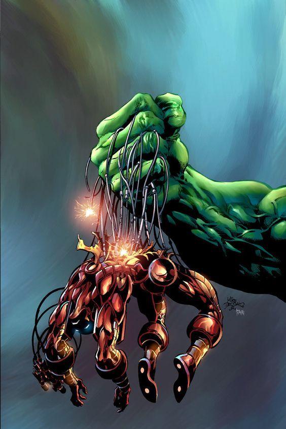 #Hulk#Fan#Art. (Incredible Hulk 73 cover) By: Mike Deodato Jr. ÅWESOMENESS!!!™ ÅÅÅ+ (NO RED MARVEL BANNER BELOW)