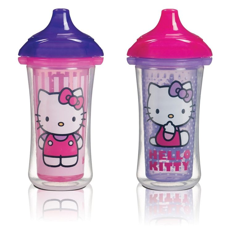 Munchkin Hello Kitty Click Lock 9oz Insulated Sippy Cup - 2pk