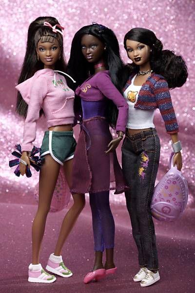 Versões negras atuais da boneca Barbie