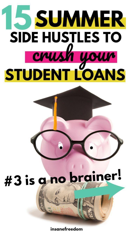 15 Summer Side Hustles für Studenten zur Tilgung von Studentendarlehen Sie scheinen keinen Job als Student zu finden, haben aber Probleme, Studentendarlehen zu erhöhen? Hier sind 15 sommerliche Trubel, die Sie in Betracht ziehen können, um Ihre College-Studentendarlehen zu zerschlagen!