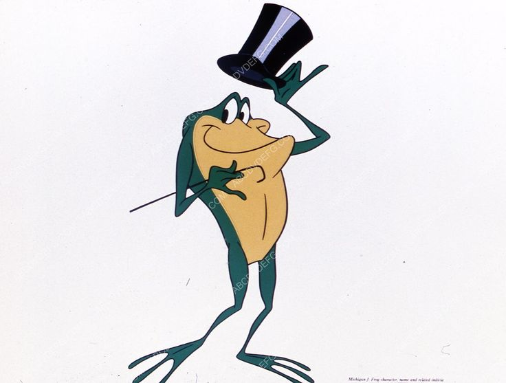 animated character Michigan J. Frog 35m-6774