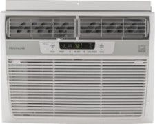 FRIGIDAIRE 12,000 BTU Window Air Conditioner: 550 sq. ft. cooling capacity; auto fan; clean air ionizer; 24-hour timer; remote