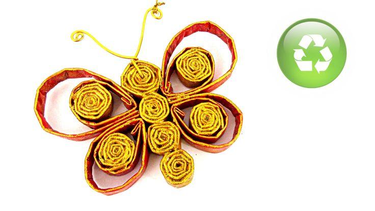 259 best images about paper rolled rollitos on pinterest - Como hacer mariposas de papel ...
