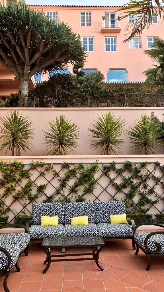The beautiful La Valencia Hotel - La Jolla, California
