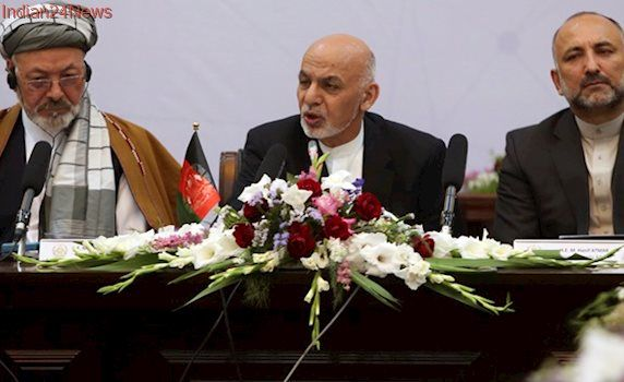 Afghan president Ashraf Ghani calls on Taliban to join peace talks