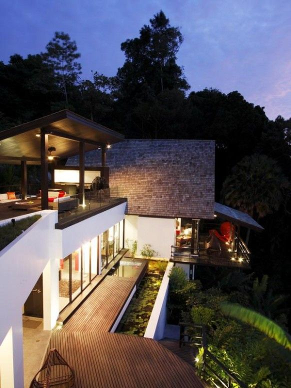 Dream HousesInterior Design, Beach House, Big House, Open Spaces, Phuket Thailand, Luxury Villa, Interiors Design, Dreams House, Landscapes Design