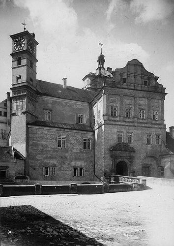 Castle of Pardubice, Bohemia, the Czech Republic | von Swedish National Heritage Board