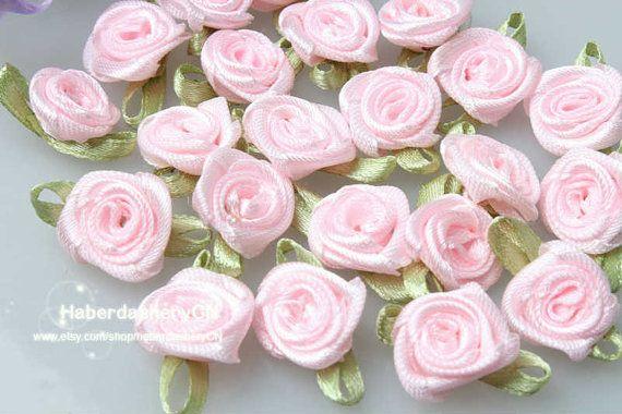 R16 FREE SHIP 450pcs Satin Ribbon Baby rose by haberdasheryCN, $16.00