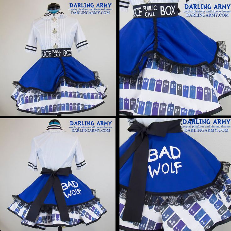 Doctor Who TARDIS Cosplay Lolita Skirt by DarlingArmy on DeviantArt