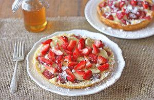 Honey Cloud Pancakes | FaveHealthyRecipes.com