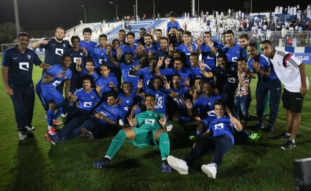 Al-Hilal Olympic football team wins the Saudi U-21 League