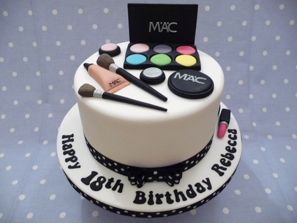 Latest Cake Design For Girl : MAC Makeup cake Cakes - Gallery Pinterest Mac cake ...