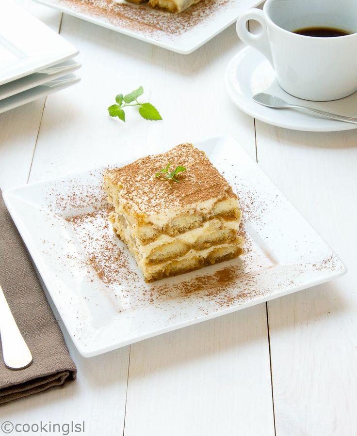 Cooking LSL | Classic Tiramisu Recipe | http://cookinglsl.com #classic Tiramisu Recipe #mascarpone