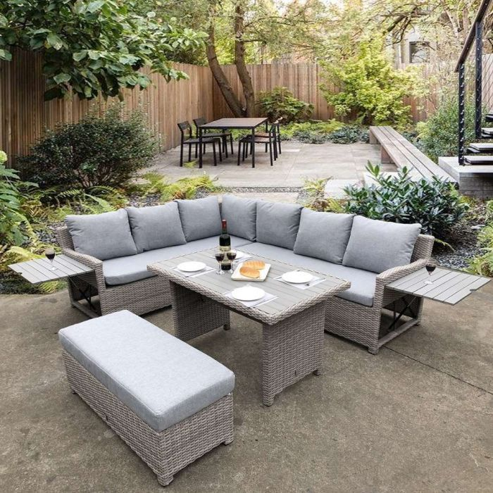 birmingham grey outdoor sofa corner