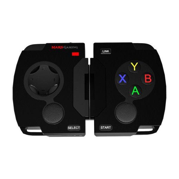GAMEPAD BLUETOOTH MARS GAMING PC ANDROID MAEl nuevo MGP1 es un mando para juegos que convierte cualquier dispositivo con Bluetooth en una consola de juegos. Los más nostálgicos disfrutarán de nuevo de la sensación de jugar con un mando clásico y con los juegos de siempre, ya que el MGP1 está pensado para emuladores y juegos Arcade....https://pcguay.com/tienda/gamepad-bluetooth-mars-gaming-pc-android-ma/