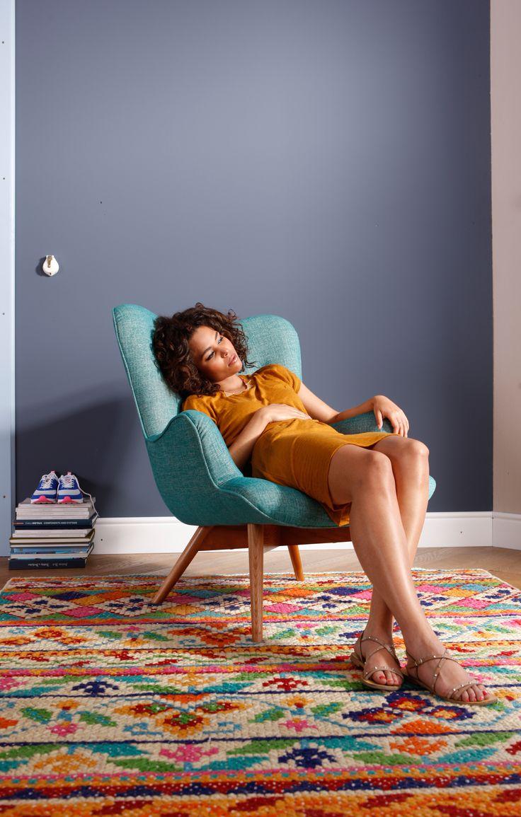 ¡Siéntete cómodo! Es lo único que te pedimos :) #Kare, #Design, #Sofa.