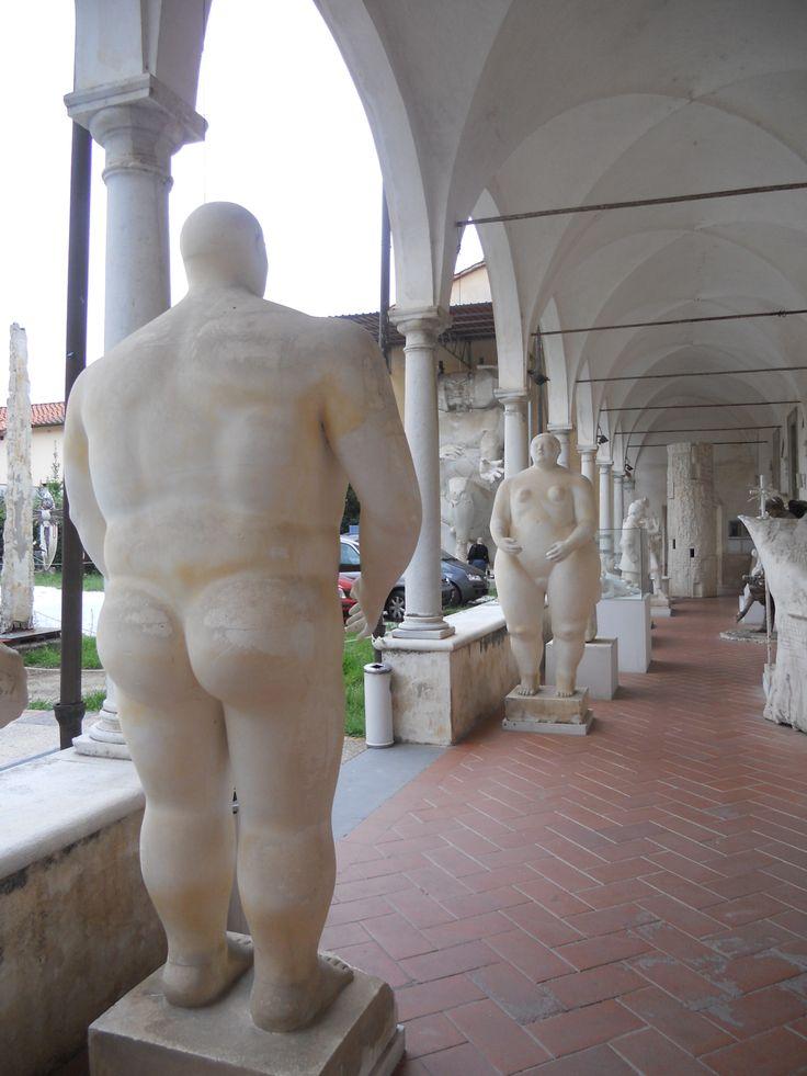 BOTERO - Musée des esquisses de Pietrasanta - Italie C. MATHIS