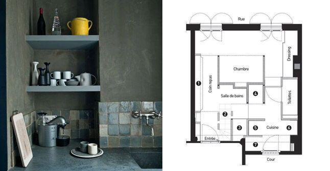 Petit appartement : deux chambres dans 27m2 ! - CôtéMaison.fr