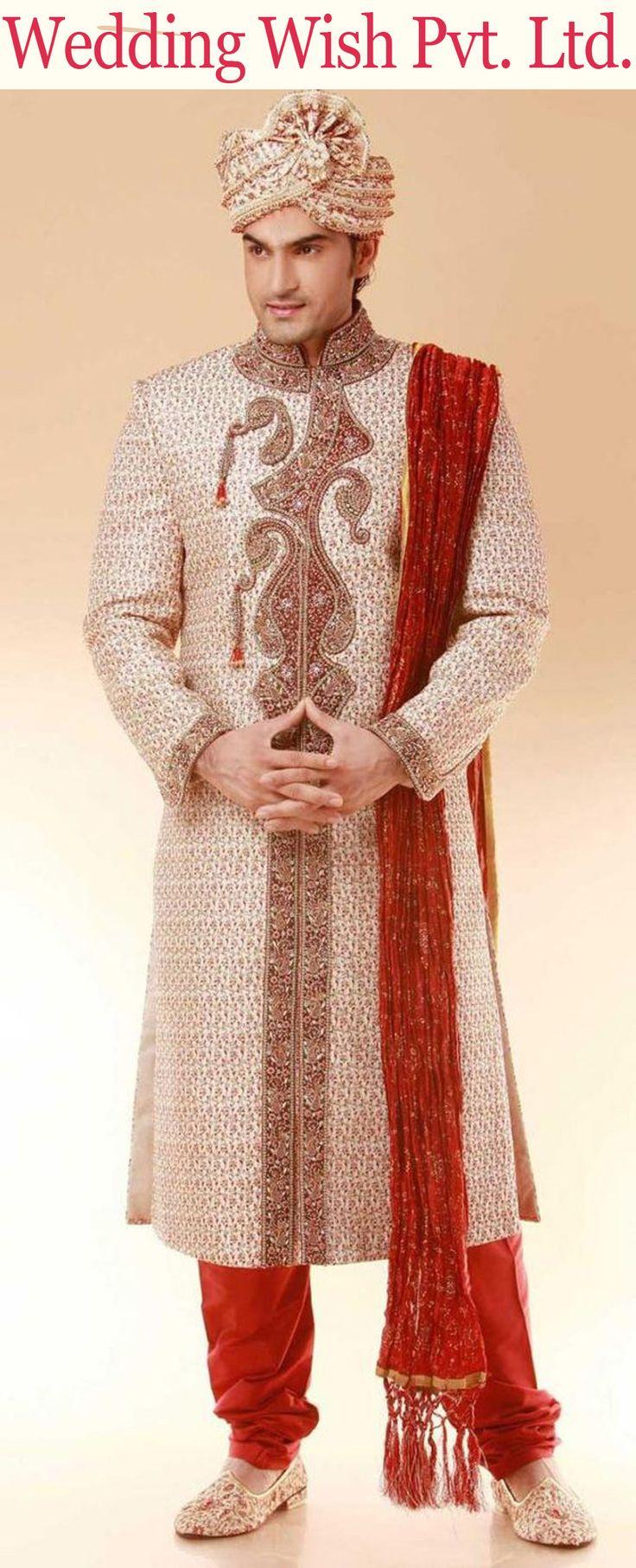 7 best wedding groom dress images on Pinterest | Indian weddings ...