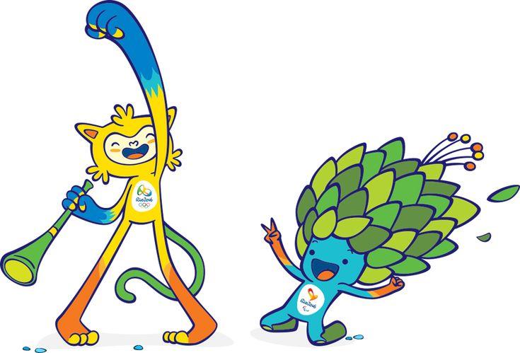 Mascotes Rio2016 - Birdo Studio