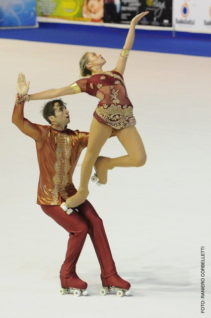 Italian Pairs - artistic roller skating, Rollerskating costume inspiration for Sk8 Gr8 Designs