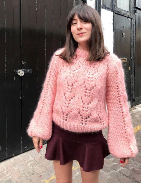 Ganni street style | Katherine Ormerod | Faucher Pullover