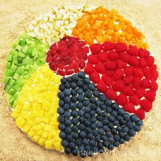 Too awesome fruit beach ball for your next beach or pool themed party!