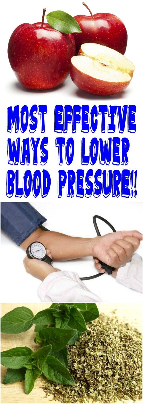 MOST EFFECTIVE WAYS TO LOWER BLOOD PRESSURE!!