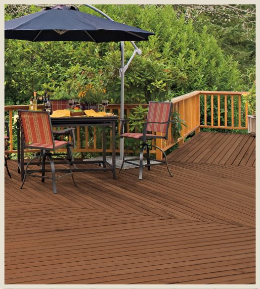 Behr deck over paint coupon