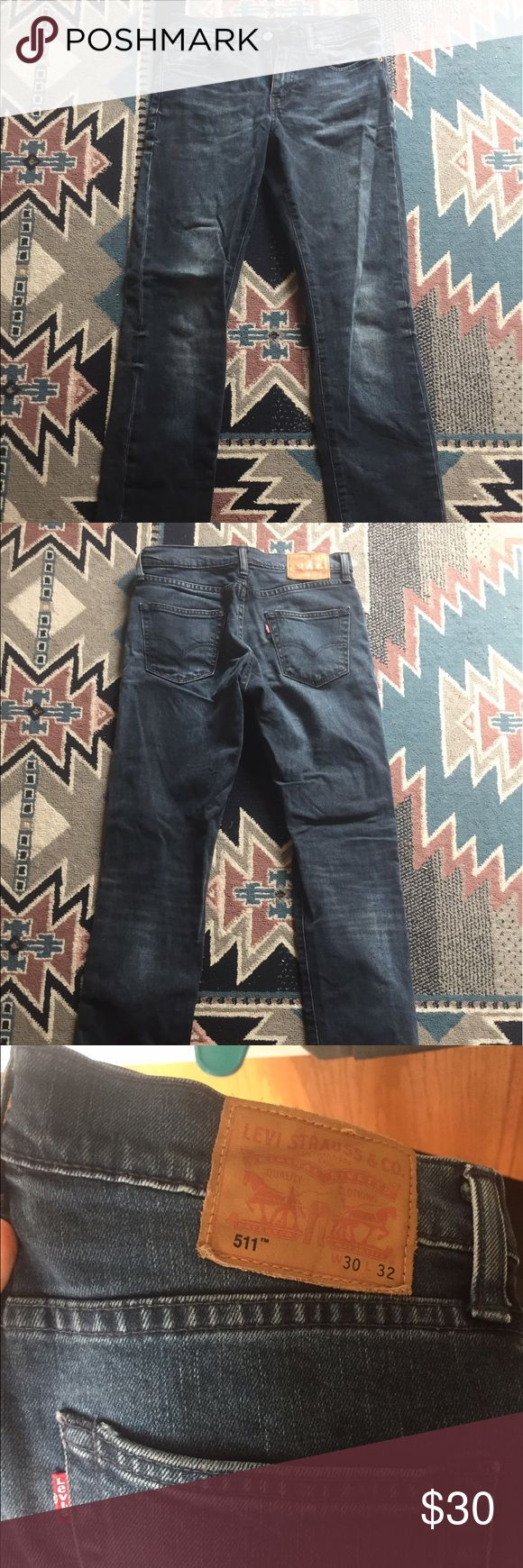 511 Levi's Jeans These were only used 5 times and are in excellent condition, size 30x32 Levi's Jeans Slim Straight