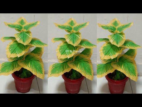 Diy Tanaman Hias Dari Kantong Plastik Docorative Plants From