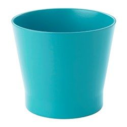 "IKEA - PAPAJA, Plant pot, 4 ¼ "", , Lacquered interior; makes the plant pot waterproof."