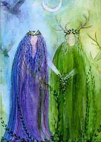 The Goddess and the Green Man | Beltane