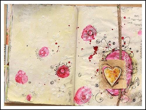 love her art journaling!