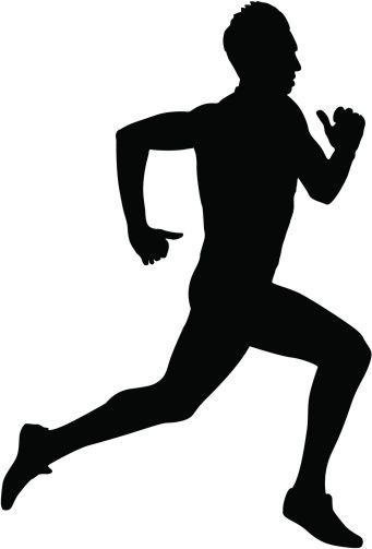 Running Silhouettes | Physical Education | Pinterest ...