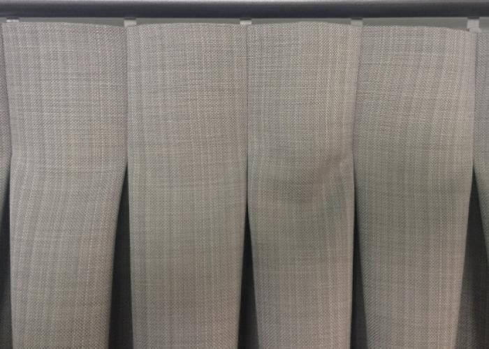 Paired with contemporary fabric the Reverse Double Pleat curtain heading establishes a clean, minimalistic look.
