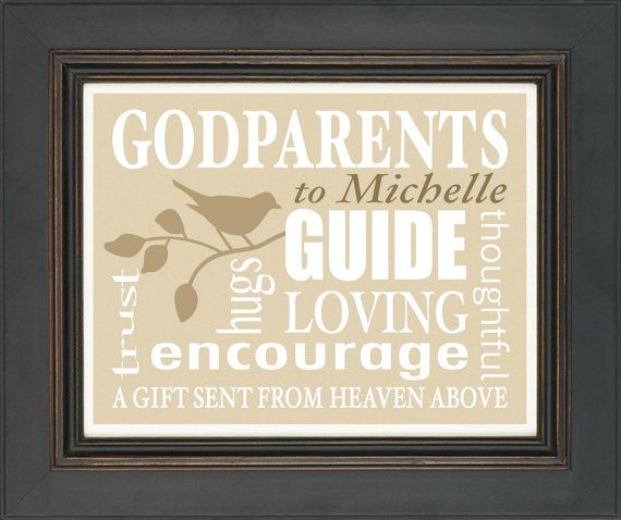 Inspirational Birthday Quotes For Goddaughter: 29 Best Images About Godmother And Godfather Gifts On