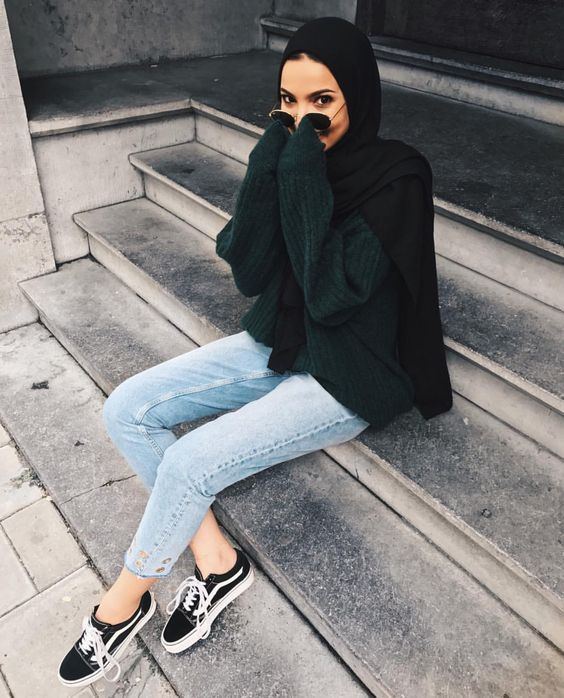 30 Cute Hijab School Outfits for Muslim Teen Girls