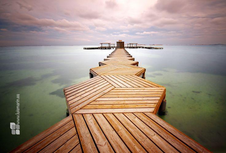 embarcadero , #Spain, #santiago  by Luis Marín