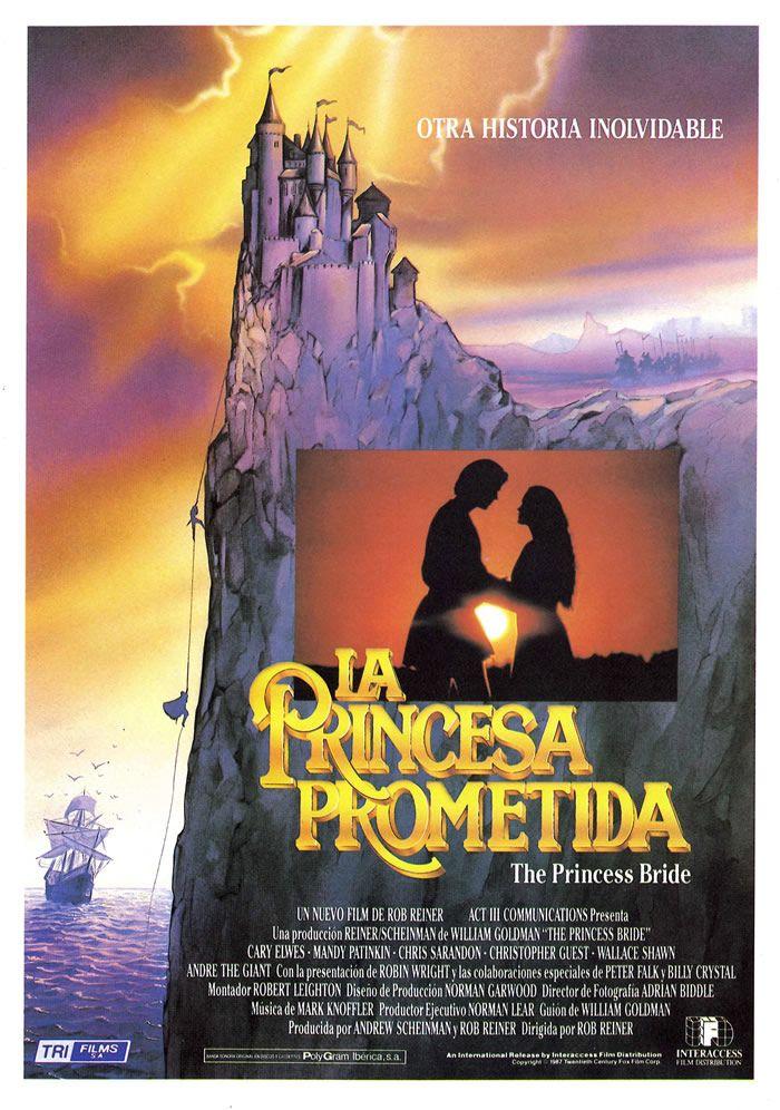 la princesa prometida, the princes bride, movie poster