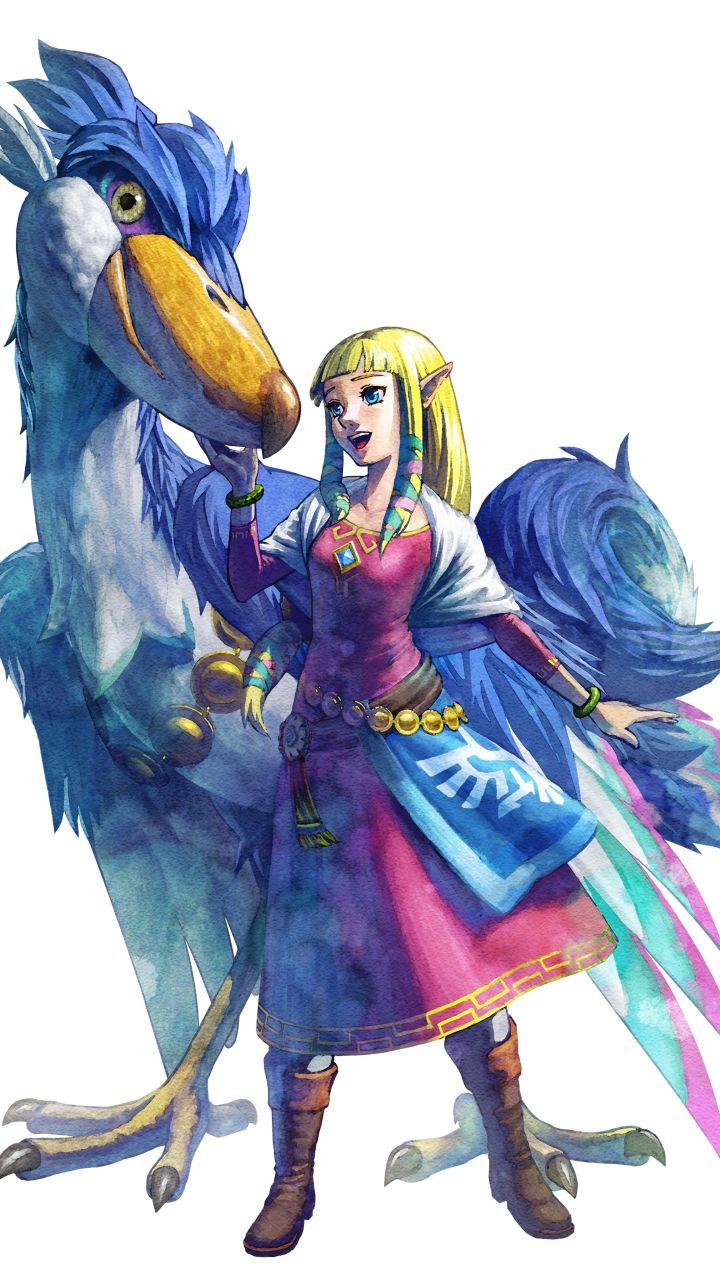 Video Game The Legend Of Zelda Skyward Sword 720x1280 Mobile